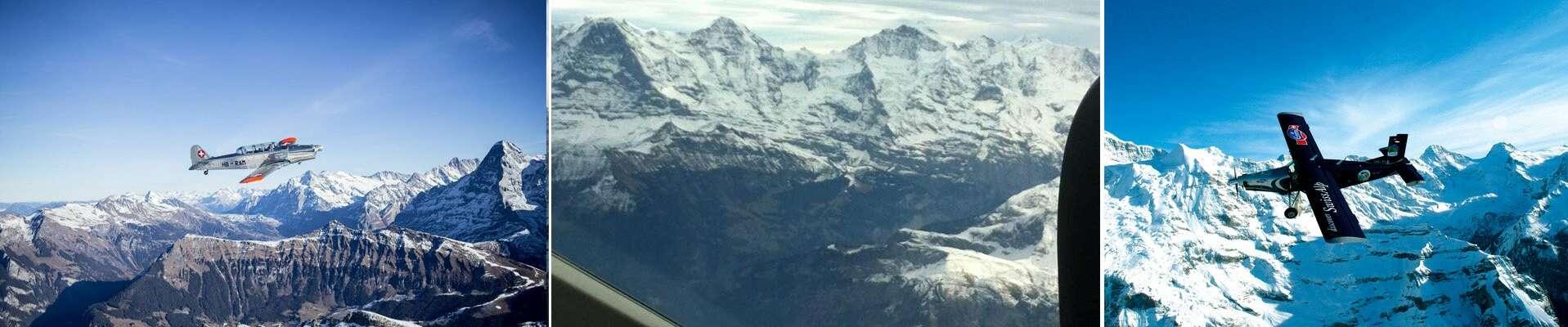 תמונות מחלון המטוס הקל