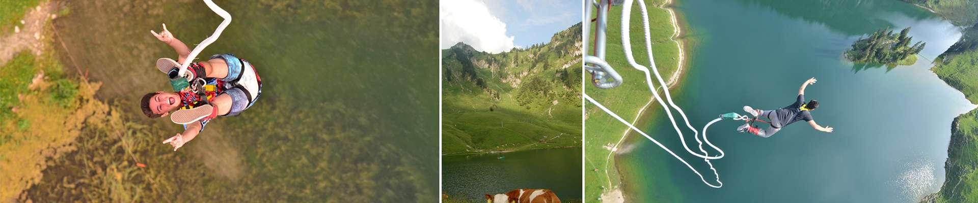 תמונות קפיצות באנג'י באתר סטוקהורן