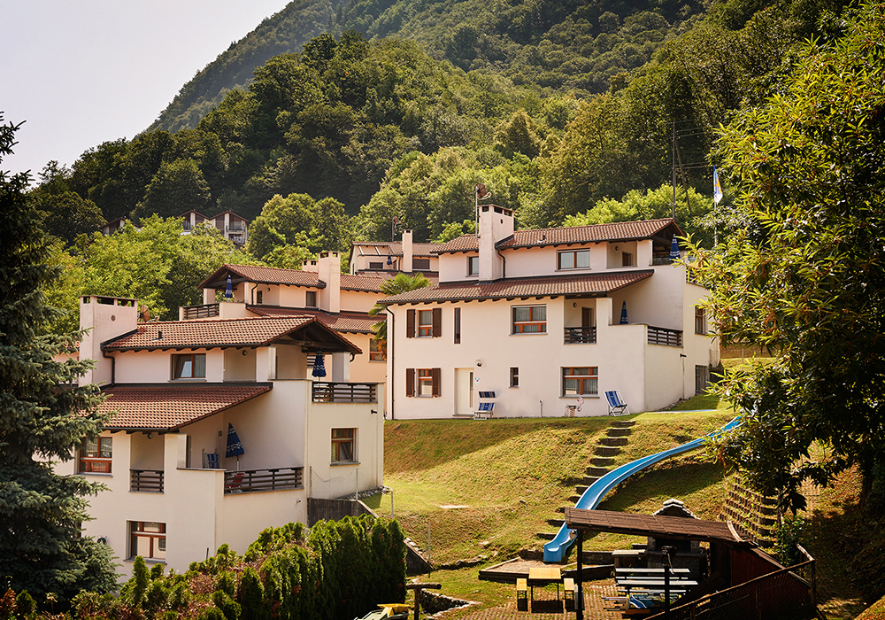 חזית כפר הנפש מגדינו בחבל טיצ'ינו