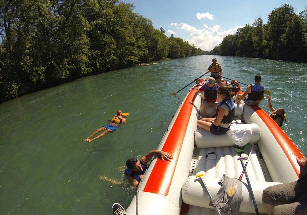 ראפטינג בנהר הארה + שחייה