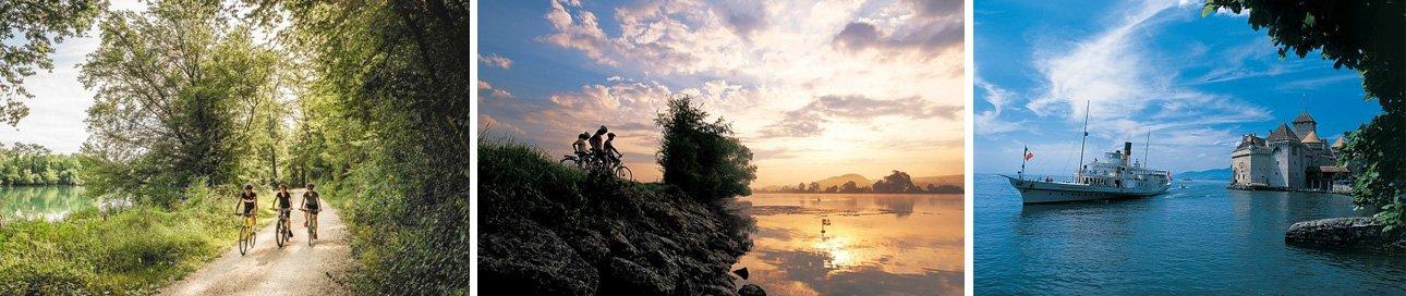 תמונות מאתרי מסלול הרכיבה לאורך נהר הריין