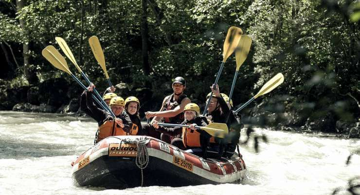 ראפטינג משפחות בנהר לוטשיין