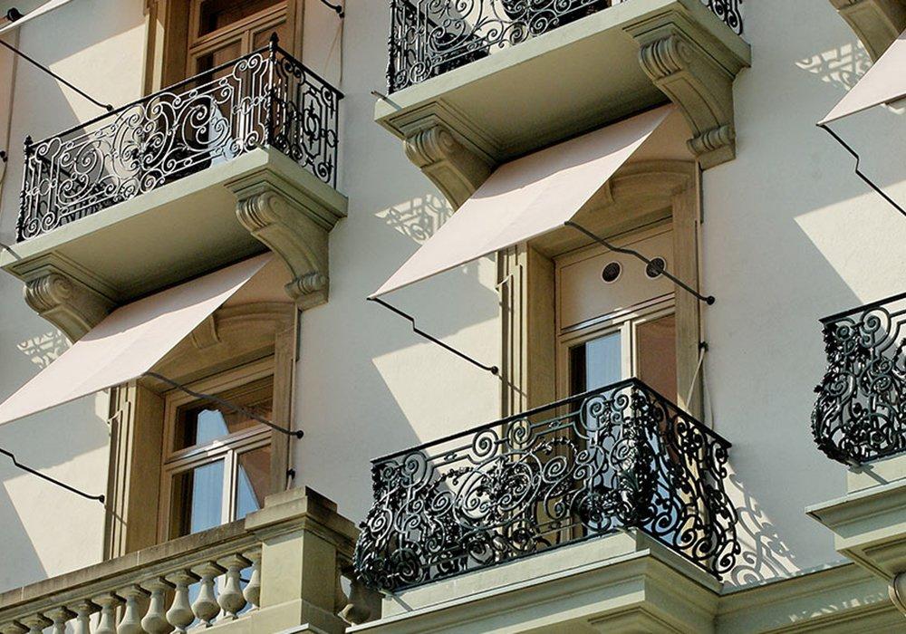 מרפסות מלון גראנד הוטל רויאל בלוצרן