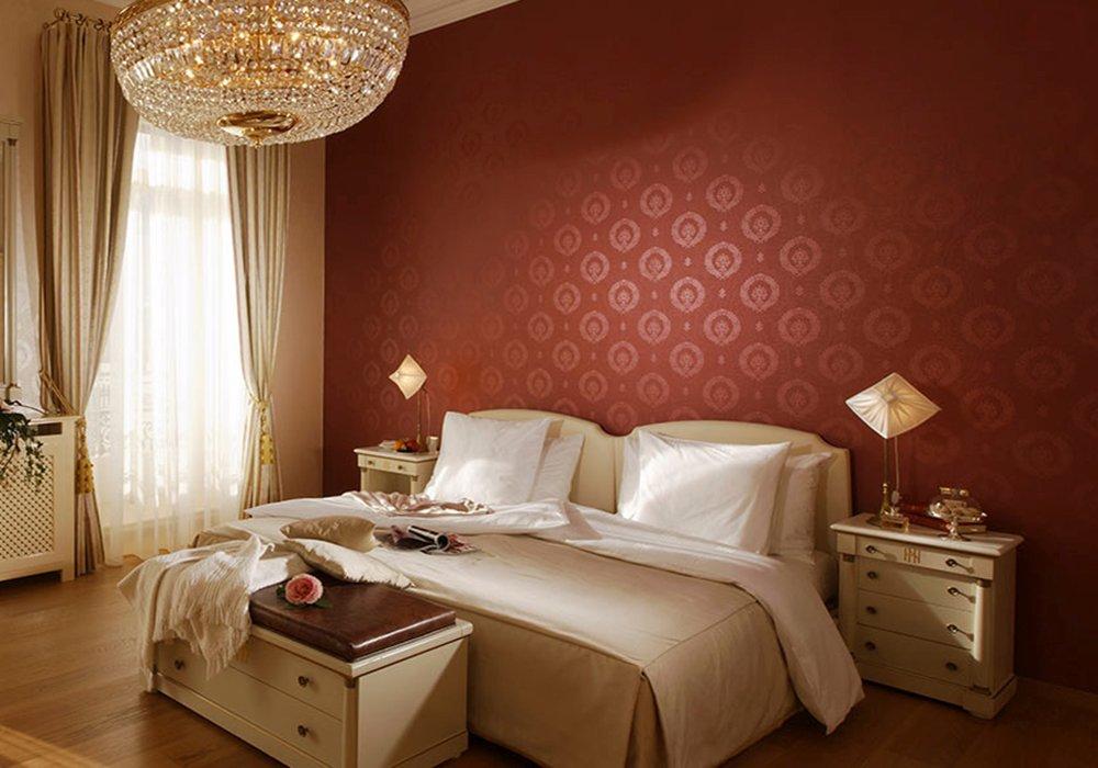 חדר מעוצב במלון גראנד הוטל רויאל בלוצרן
