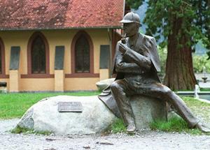מוזיאון שרלוק הולמס ליד מפלי רייכנבאך