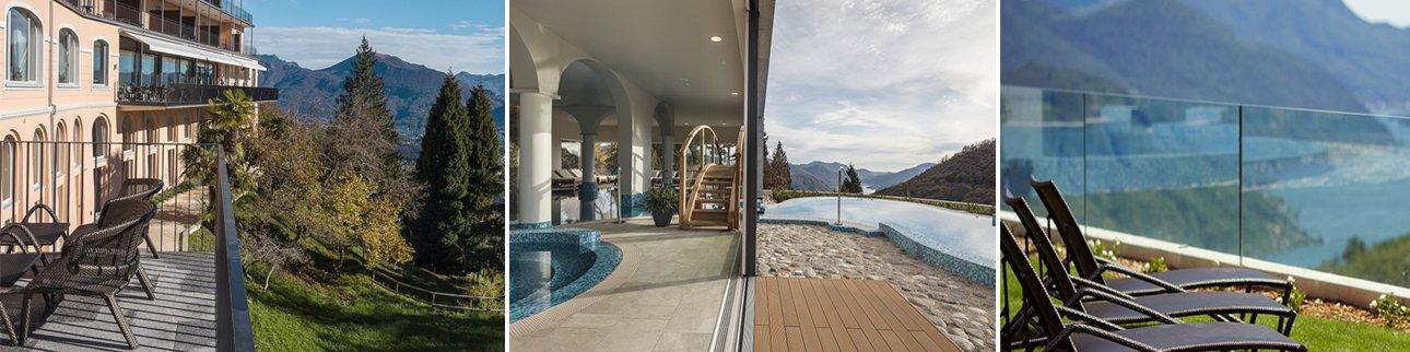 תמונות ממלון קורהאוס קדמאריו בלוגאנו - קומפוזיציה