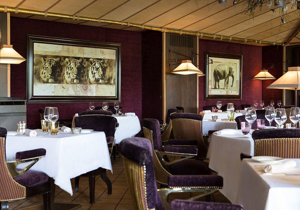 מסעדת מלון לה רזרב בלוזאן - אגם ז'נבה
