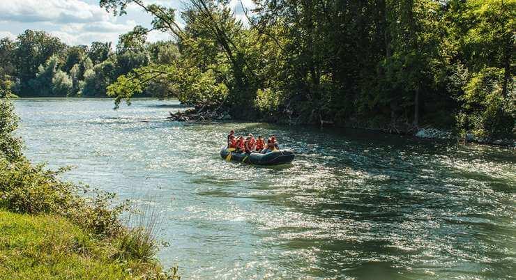 ראפטינג בנהר הארה