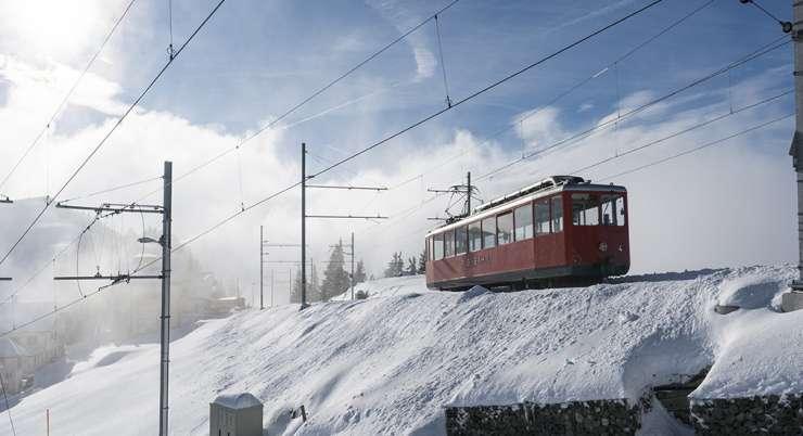 מסע חווית רכבות ההרים