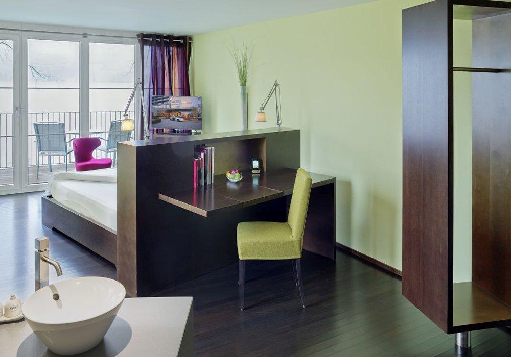 חדר לדוגמה במלון ספא סירוז באגם האלוויל
