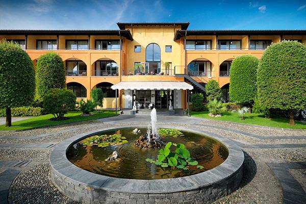 חזית מלון הגראנד נשיונל בלוצרן