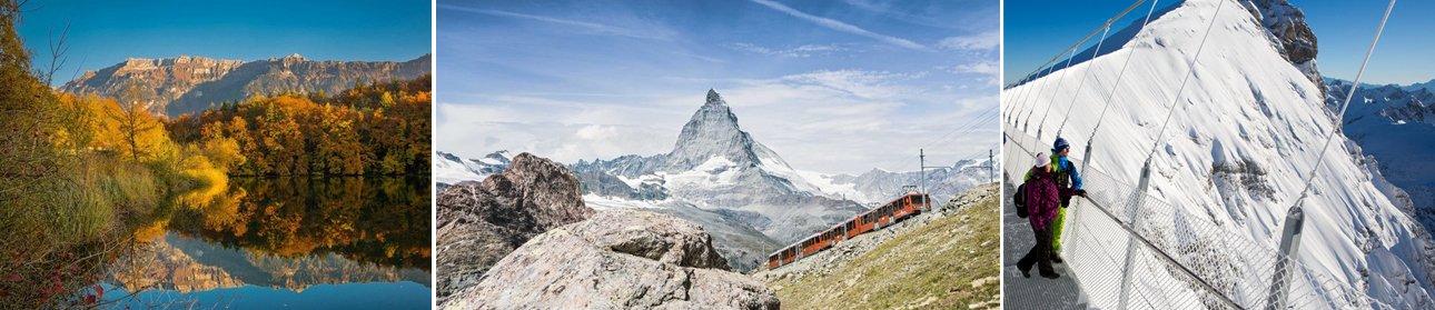 תמונות זרמאט, הר מטרהרון, הגשר בפסגת הר טיטליס