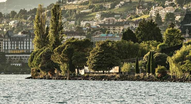 """סופ""""ש במונטרה על אגם ז'נבה"""
