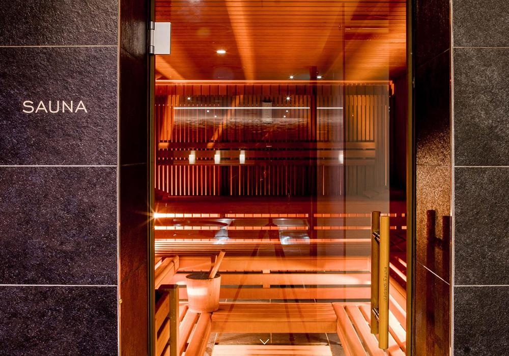הסאונה בספא במלון שווייצרהוף בברן