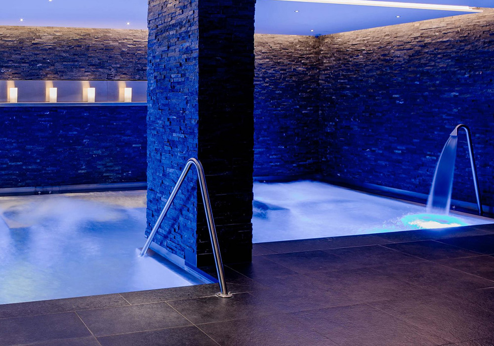 בריכת הספא במלון שווייצרהוף בברן