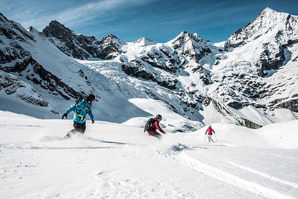 סנובורד וסקי - פעילות אקסטרים בשלג
