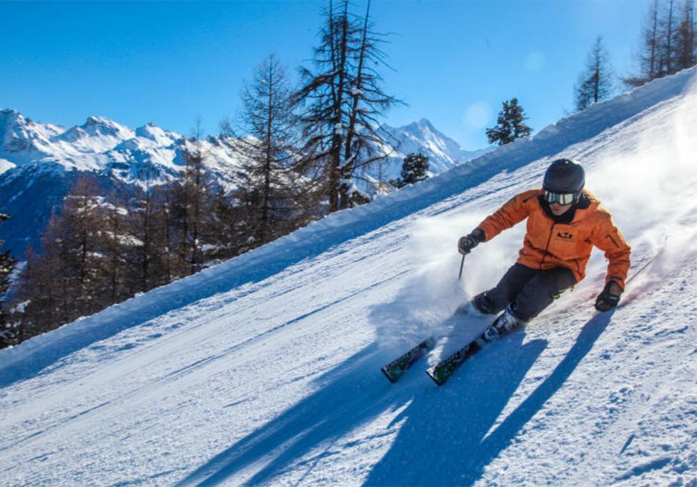 גולש סקי באזור סאס פי