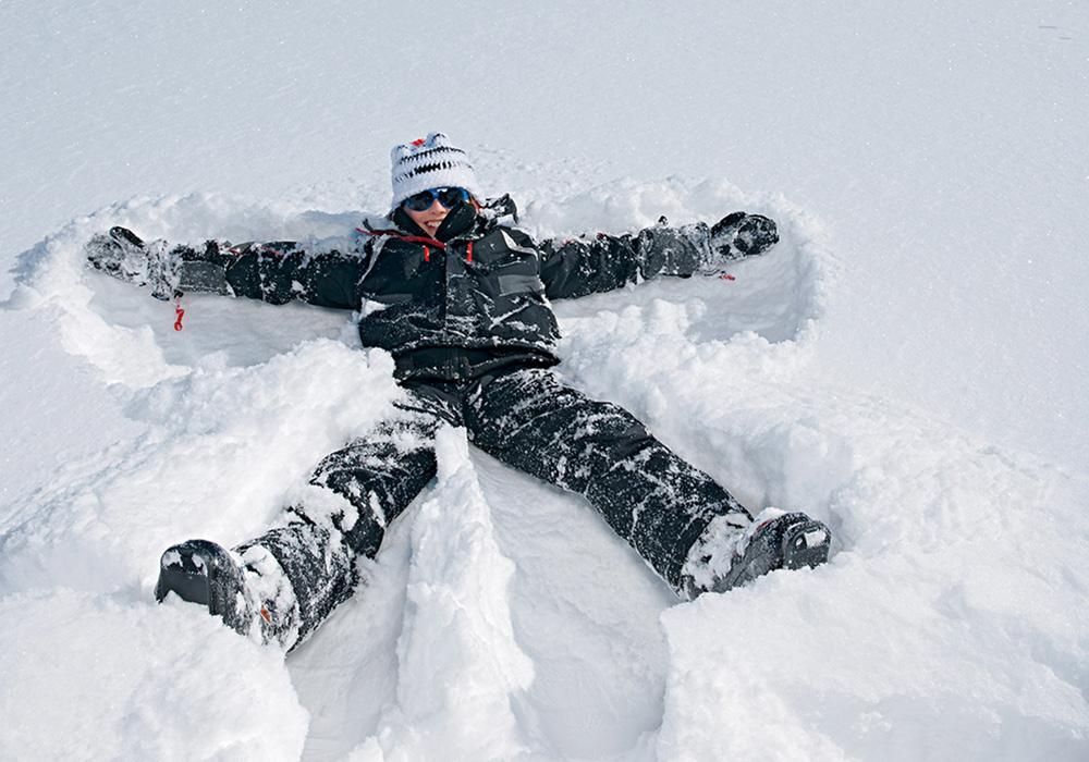 שעשוע בשלג באזור אלנגלברג