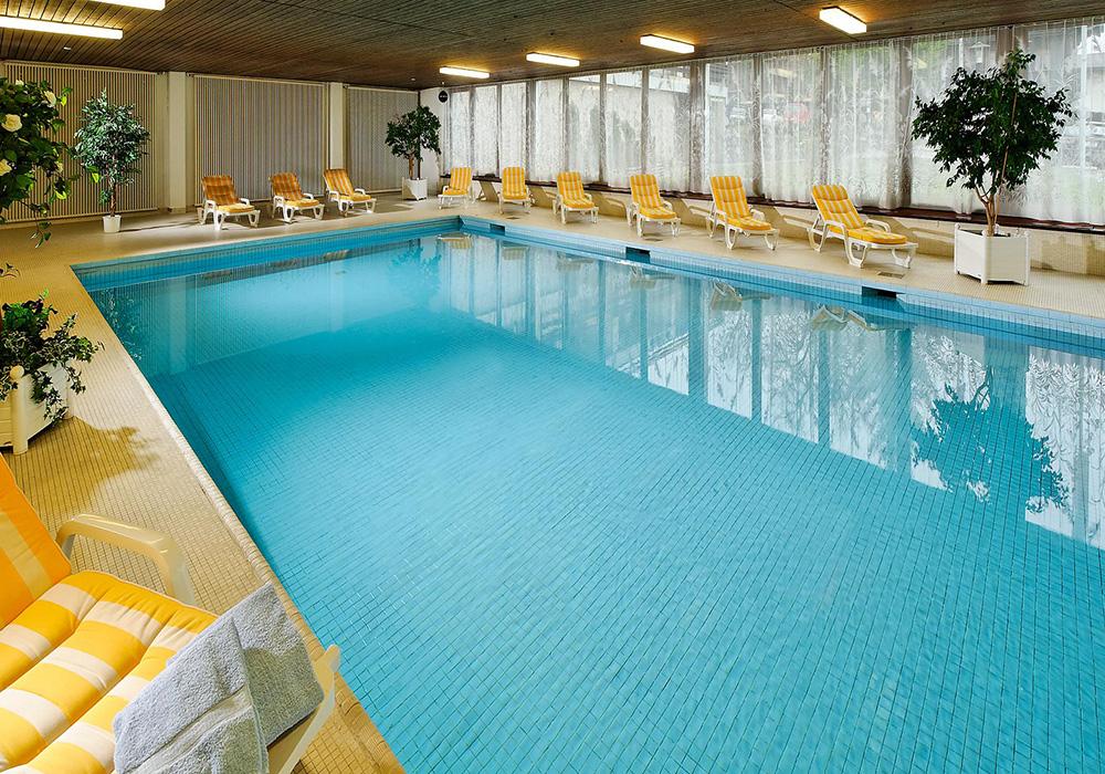 הבריכה במלון ויקטוריה בוילאר