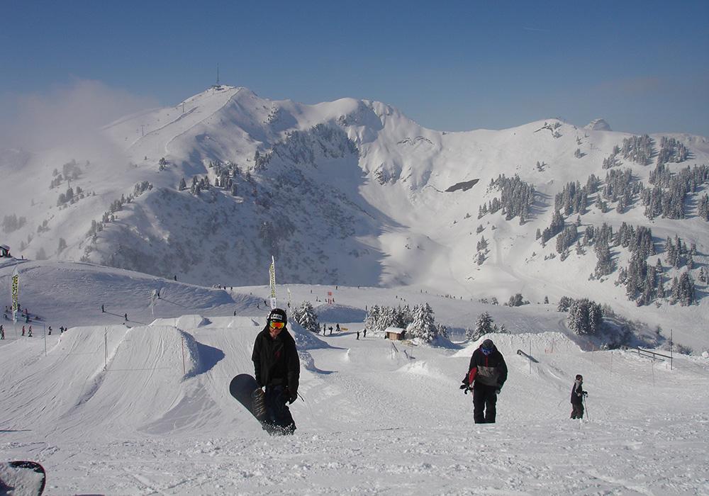 מסלולי סקי בוילאר סור אולון