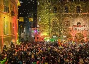 חגיגות הרבאדן בעיר בליצונה