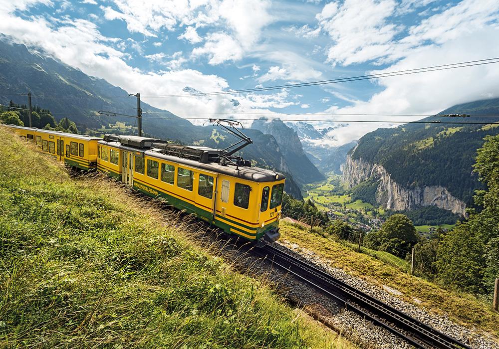 רכבת ההרים האלפינית באזור וונגן